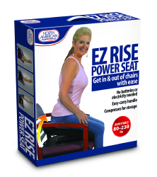Jobar North American Health & Wellness EZ Rise Power Seat