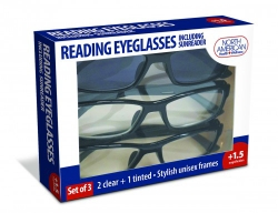 North American Health & Wellness Reading Eyeglasses