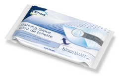 Tena® Bathing Glove Wipe, Unscented