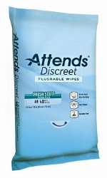 Attends®Discreet Personal Wipe