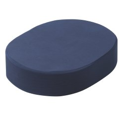 drive™ Compressed Foam Ring Wheelchair Cushion, 16-1/2 x 12-1/2 x 3-1/2 in., Blue