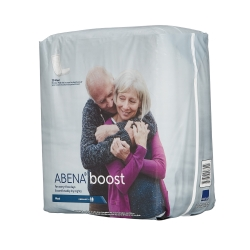 Abena Boost Adult Disposable Moderate-Absorbent Incontinence Booster Pad, 6-1/4 X 24 Inch