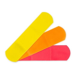 McKesson Kids™ Neon Adhesive Strip, ¾ x 3 Inch