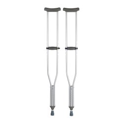 McKesson Tall Adult Underarm Crutches, 5 ft. 10 in. - 6 ft. 6 in.