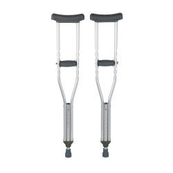 McKesson Child Underarm Crutches, 4 ft. 6 in. - 5 ft. 2 in.
