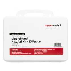 MooreBrand® First Aid Kit - 25 Person