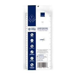 Abena® White Sterile Adhesive Dressing, 4 x 10 Inch