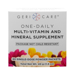 Geri-Care One Daily Multi-Vitamin And Mineral Powder Packets