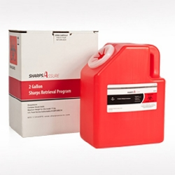 Sharps Assure Mail Back Sharps Container