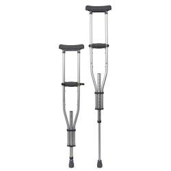 McKesson Underarm Crutches, 4 ft. 6 in. - 6 ft. 6 in.