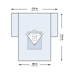 McKesson Brand 183-I80-09153G-S