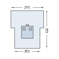 McKesson Brand 183-I80-09138G-S