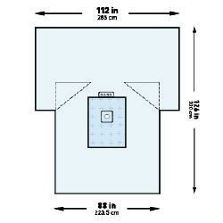 McKesson Brand 183-I80-09152G-S