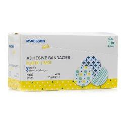 McKesson KIDS™ Adhesive Spot Bandage, 1-Inch Diameter