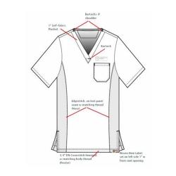 Fashion Seal Uniforms 12004-2XS