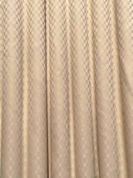 Cubicle Curtain Factory 124X84-C-BISCUIT