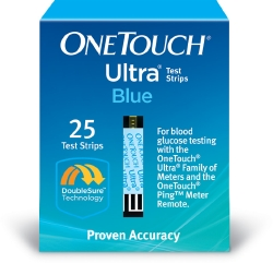 LifeScan OneTouch® Ultra® Blue Glucose Test Strips