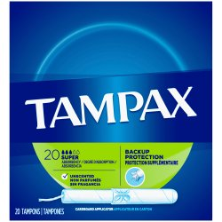 Tampax® Pearl Smooth Tampon, Super