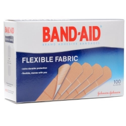 J & J Band-Aid® Flexible Fabric Adhesive Bandages