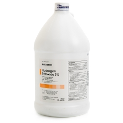 McKesson Antiseptic Hydrogen Peroxide Topical Solution, 1 gal. Bottle