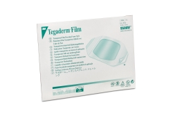 3M™ Tegaderm™ Rectangular Transparent Sterile Film Dressing, 4 x 4-3/4 Inch