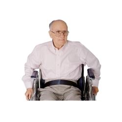SkiL-Care™ Econo-Belt Wheelchair Safety Belt, 2 x 50 in., Black