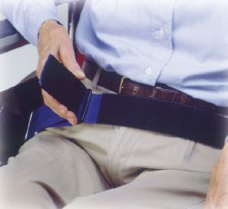 SkiL-Care™ Patient Release Wheelchair Safety Belt