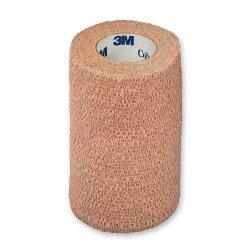 3M™ Coban™ Sterile Cohesive Bandage, 4 Inch x 5 Yard