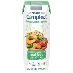 Compleat® Tube Feeding Formula, Unflavored, 250 mL Ready-to-Use Carton