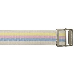 SkiL-Care™ Heavy-Duty Gait Belt with Metal Buckle, Pastel Stripes, 60 Inch