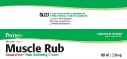 Perrigo Muscle Rub Pain Relieving Cream