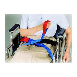 SkiL-Care™ Slider Belt, 2 x 35 x 42 in., Red / Blue