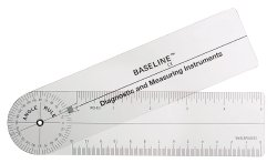 Baseline® Plastic Rulongmeter Goniometer