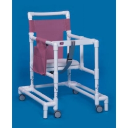 IPU Ultimate Walker, 29 - 35 in., Maroon, 300 lbs. Capacity, PVC