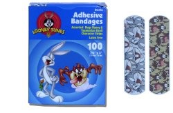 Dukal Stat Strip® Looney Tunes™ Bandages