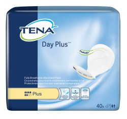 TENA® Day Plus™ Unisex Heavy-Absorbent Bladder Control Pad, One Size Fits Most