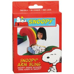 Sport Aid™ Pediatric Snoopy Character Print Polyester / Cotton Arm Sling, Medium