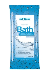 Sage® Comfort Bath® Bath Wipe Soft Pack