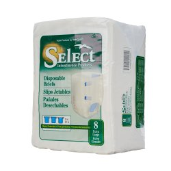Select® Heavy Protection Incontinence Brief, Extra Large