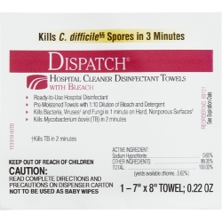 Dispatch® with Bleach Surface Disinfectant Cleaner