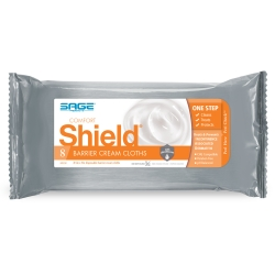 Shield® Barrier Cream Cloths, Soft Pack