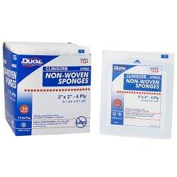 Clinisorb Sterile Nonwoven Sponge, 2 x 2 Inch