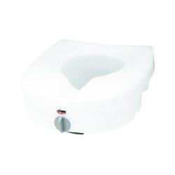 Carex® E-Z Lock™ Raised Toilet Seat