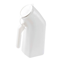 Carex® Male Urinal with Cover, 32 oz.