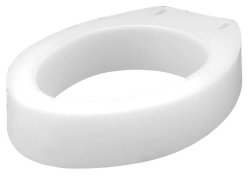 Carex® Raised Toilet Seat - Elongated