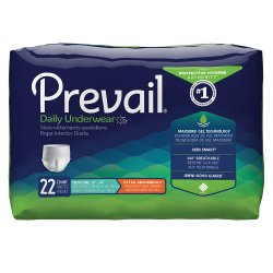 Prevail® Daily Underwear Extra Absorbent Underwear, Small (Youth)