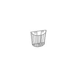 Exergen Thermometer Wall Basket