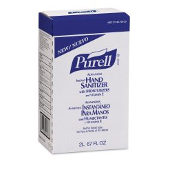 Purell® Advanced Gel Hand Sanitizer 2000 mL Bag-in-Box