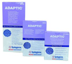 Systagenix Adaptic™ Sterile Non-Adherent Dressing, 3 x 3 Inch