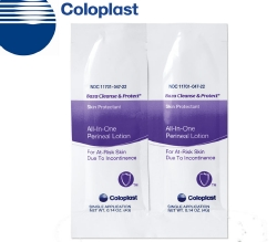 Coloplast Baza® Cleanse and Protect® Perineal Wash Individual Packet